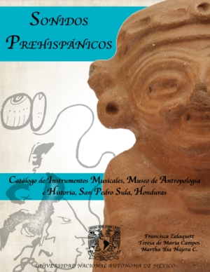 Sonidos Prehisp�nicos.Instrumentos musicales, museo de Antropolog�a e Historia, San Pedro Sula, Honduras