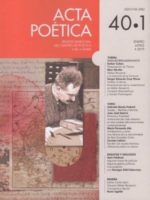 Acta Po�tica