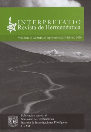 Interpretatio. Revista de Hermen�utica
