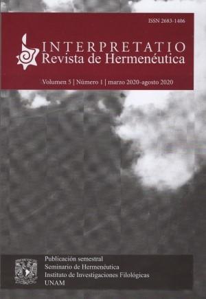 Interpretatio. Revista de Hermenéutica