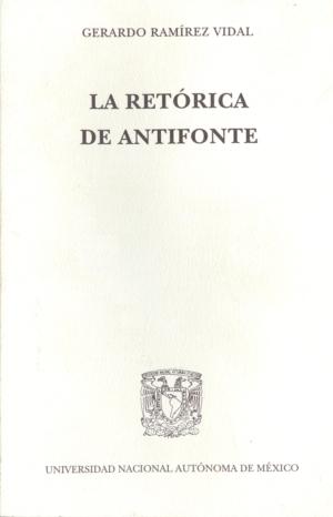La retórica de Antifonte