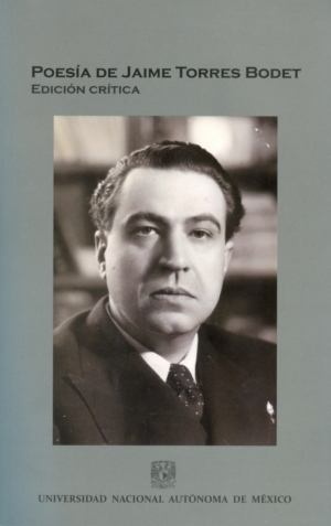 Poesía de Jaime Torres Bodet. Edición crítica