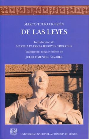 De las Leyes. Marco Tulio Cicerón
